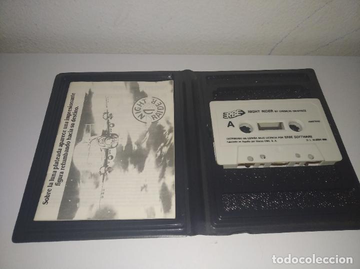 Videojuegos y Consolas: juego Night raider estuche grande con instrucciones amstrad - Foto 4 - 195879232