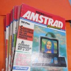 Videojuegos y Consolas: MICROHOBBY AMSTRAD SEMANAL NUMERO 1 AL 64 SEPTIEMBRE 1985 A DICIEMBRE 1986 - ESTUDIO OFERTA LEER INT. Lote 195882008