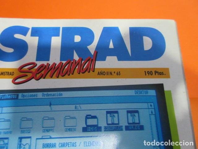 Videojuegos y Consolas: AMSTRAD SEMANAL NUMERO 65 AL 100 DICIEMBRE 1986 A SEPTIEMBRE 1987 - ESTUDIO OFERTA LEER INT - Foto 4 - 195882558