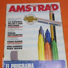 Videojuegos y Consolas: REVISTA AMSTRAD PERSONAL NUMERO 2 AÑO 1987 . Lote 195884335