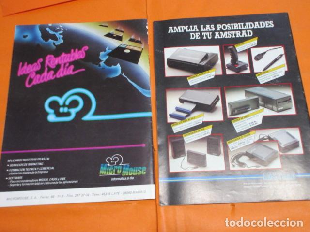 Videojuegos y Consolas: REVISTA AMSTRAD PROGRAMANDO MI NUMEROS 1 Y 2 CREO QUE DE 1986 - Foto 3 - 195884767