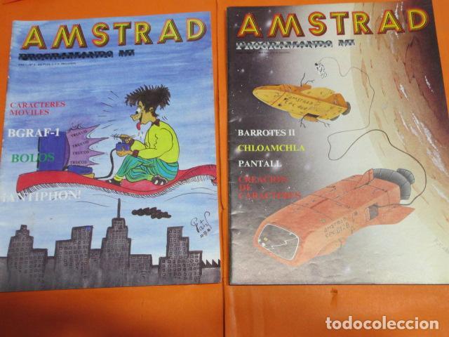 REVISTA AMSTRAD PROGRAMANDO MI NUMEROS 1 Y 2 CREO QUE DE 1986 (Juguetes - Videojuegos y Consolas - Amstrad)