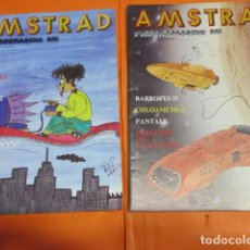 Videojuegos y Consolas: REVISTA AMSTRAD PROGRAMANDO MI NUMEROS 1 Y 2 CREO QUE DE 1986. Lote 195884767