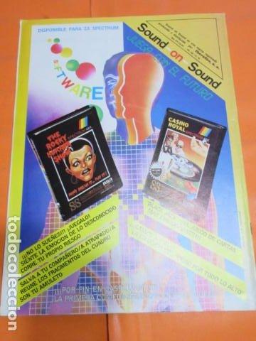 Videojuegos y Consolas: REVISTA AMSTRAD TODO SOBRE EL AMSTRAD NUMERO 4 AÑO 1986 - Foto 2 - 195885245