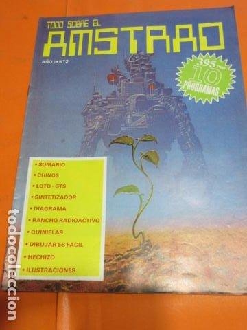 REVISTA AMSTRAD TODO SOBRE EL AMSTRAD NUMERO 3 AÑO 1986 (Juguetes - Videojuegos y Consolas - Amstrad)
