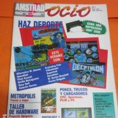 Videojuegos y Consolas: REVISTA AMSTRAD SINCLAIR OCIO NUMERO 5 AÑO 1989 - LEER INTERIOR. Lote 195886551