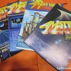 Videojuegos y Consolas: REVISTA AMSTRAD MANIA NUMERO 1 - 2 - 3 Y 4 - 1986 LEER INTERIOR. Lote 195887157