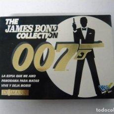 Videojuegos y Consolas: THE JAMES BOND COLLECTION / CAJA CARTÓN / AMSTRAD CPC 464 / RETRO VINTAGE / CASSETTE. Lote 197494546