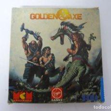 Videojuegos y Consolas: GOLDEN AXE / CAJA CARTÓN / AMSTRAD CPC 464 / RETRO VINTAGE / CASSETTE. Lote 197494605