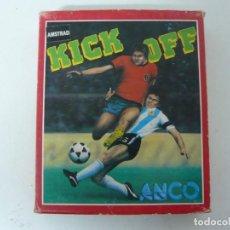 Videojuegos y Consolas: KICK OFF / CAJA CARTÓN / AMSTRAD CPC 464 / RETRO VINTAGE / CASSETTE. Lote 197494688