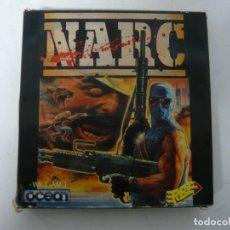 Videojuegos y Consolas: NARC / CAJA CARTÓN / AMSTRAD CPC 464 / RETRO VINTAGE / CASSETTE. Lote 197494773