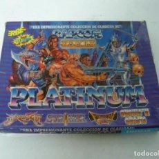 Videojuegos y Consolas: PACK PLATINUM / CAJA CARTÓN / AMSTRAD CPC 464 / RETRO VINTAGE / CASSETTE. Lote 197494848