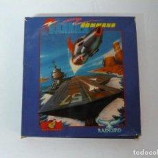 Videojuegos y Consolas: CARRIER COMMAND / CAJA CARTÓN / AMSTRAD CPC 6128/ RETRO VINTAGE / DISCO - DISKETTE. Lote 197495037