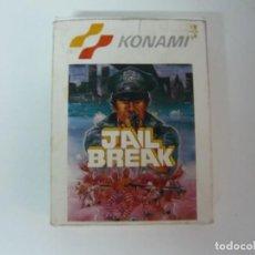 Videojuegos y Consolas: JAIL BREAK DE KONAMI / CAJA CARTÓN / AMSTRAD CPC 6128/ RETRO VINTAGE / DISCO - DISKETTE. Lote 197495221