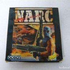 Videojuegos y Consolas: NARC / CAJA CARTÓN / AMSTRAD CPC 6128/ RETRO VINTAGE / DISCO - DISKETTE. Lote 197495482