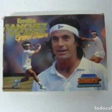Videojuegos y Consolas: EMILIO SÁNCHEZ VICARIO TENIS / CAJA CARTÓN / AMSTRAD CPC 6128/ RETRO VINTAGE / DISCO - DISKETTE. Lote 197495585