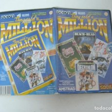 Videojuegos y Consolas: THEY SOLD A MILLION / CARPETA / AMSTRAD CPC 6128/ RETRO VINTAGE / DISCO - DISKETTE. Lote 197495682