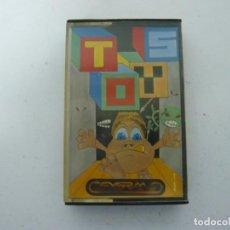 Jeux Vidéo et Consoles: TOYS DE SYGRAN / JEWEL CASE / AMSTRAD CPC 464 / RETRO VINTAGE / CASSETTE - CINTA. Lote 197751128