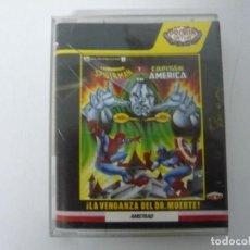 Videojuegos y Consolas: VENGANZA DEL DR. MUERTE / JEWEL CASE / AMSTRAD CPC 464 / RETRO VINTAGE / CASSETTE - CINTA. Lote 197751237