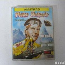 Videojuegos y Consolas: PERICO DELGADO DE TOPO SOFT / JEWEL CASE / AMSTRAD CPC 464/ RETRO VINTAGE / CASSETTE - CINTA. Lote 197751547