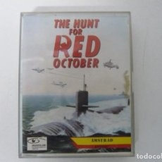 Videojuegos y Consolas: HUNT FOR RED OCTOBER - CAZA OCTUBRE / JEWEL CASE / AMSTRAD CPC 464/ RETRO VINTAGE / CASSETTE - CINTA. Lote 197751613