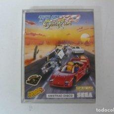 Jeux Vidéo et Consoles: TURBO OUT RUN / JEWEL CASE / AMSTRAD CPC 6128 / RETRO VINTAGE / DISKETTE - DISCO. Lote 197752288