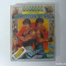 Videojuegos y Consolas: DRAGON NINJA / JEWEL CASE / AMSTRAD CPC 464 / RETRO VINTAGE / CASSETTE - CINTA. Lote 197752607