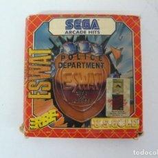 Videojuegos y Consolas: E. SWAT / CAJA DE CARTÓN / AMSTRAD CPC 464 / RETRO VINTAGE / CASSETTE - CINTA. Lote 197752821