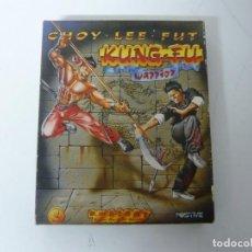 Videojuegos y Consolas: KUNG-FU WARRIOR - CHOY LEE FUT / CAJA DE CARTÓN / AMSTRAD CPC 464 / RETRO VINTAGE / CASSETTE - CINTA. Lote 197753017