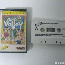 Videojuegos y Consolas: BEACH VOLLEY / JEWEL CASE / AMSTRAD CPC 464 / RETRO VINTAGE / CASSETTE - CINTA. Lote 197753456