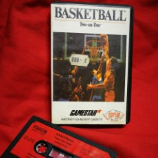Videojuegos y Consolas: JUEGO AMSTRAD BASKETBALL TWO ON TWO- GAMESTAR (PROEIN SOFT LINE), 1986.. Lote 198350676