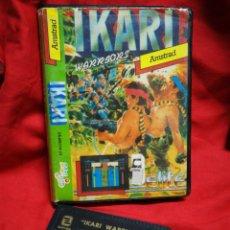 Videojogos e Consolas: JUEGO AMSTRAD IKARI WARRIORS- ZAFIRO, 1986.(CASETE NEGRO).. Lote 198353065