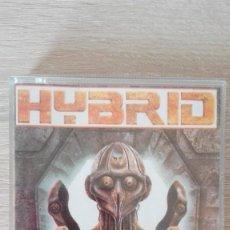 Videojuegos y Consolas: HYBRID-AMSTRAD CASSETTE-DRO SOFT-AÑO 1987-MUY MUY DIFÍCIL.. Lote 198430110