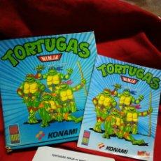 Videojuegos y Consolas: JUEGO AMSTRAD TORTUGAS NINJA- MIRRORSOFT LTD (KONAMI-MCM SOFTWARE) 1990.. Lote 198641168
