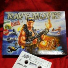 Videojuegos y Consolas: JUEGO AMSTRAD NAVY MOVES- DINAMIC SOFTWARE, 1987.. Lote 198641850