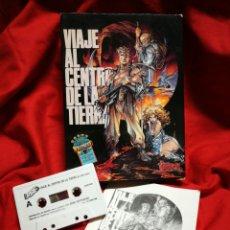 Videojuegos y Consolas: JUEGO AMSTRAD VIAJE AL CENTRO DE LA TIERRA- TOPO SOFT (ERBE SOFTWARE), 1989.. Lote 198644148