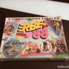 Videojuegos y Consolas: JUEGO ERBE 88 SPECTRUM. AÑO 1988. ERBE . Lote 198783572