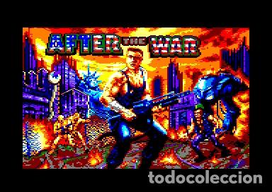 Videojuegos y Consolas: After The War [Dinamic Software] 1989 [AMSTRAD CPC Disco] - Foto 12 - 55803779
