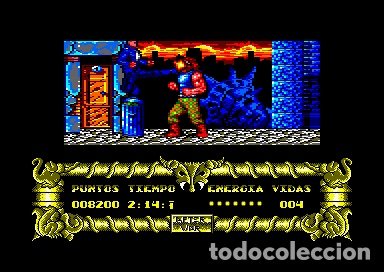 Videojuegos y Consolas: After The War [Dinamic Software] 1989 [AMSTRAD CPC Disco] - Foto 13 - 55803779