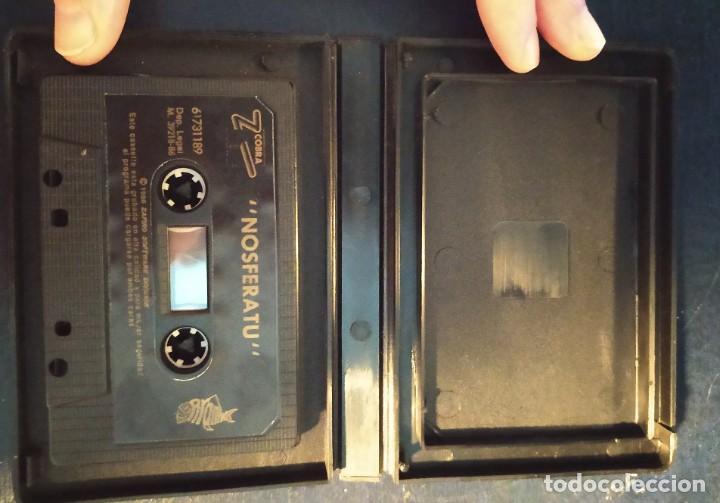 Videojuegos y Consolas: VIDEOJUEGO NOSFERATU (AMSTRAD), ESTUCHE, ZAFIRO COBRA. AÑOS 80. NO SPECTRUM, COMMODORE, MSX. RETRO - Foto 3 - 200778683