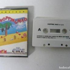 Videojuegos y Consolas: HOPPING MAD / JEWEL CASE / AMSTRAD CPC 464 / RETRO VINTAGE / CASSETTE - CINTA. Lote 201276625