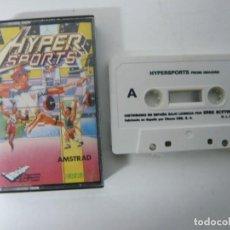 Videojuegos y Consolas: HYPERSPORTS / JEWEL CASE / AMSTRAD CPC 464 / RETRO VINTAGE / CASSETTE - CINTA. Lote 201276630