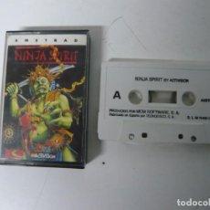 Videojuegos y Consolas: NINJA SPIRIT / JEWEL CASE / AMSTRAD CPC 464 / RETRO VINTAGE / CASSETTE - CINTA. Lote 201276667