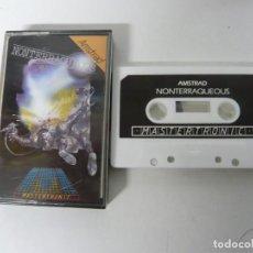 Videojuegos y Consolas: NONTERRAQUEOUS / JEWEL CASE / AMSTRAD CPC 464 / RETRO VINTAGE / CASSETTE - CINTA. Lote 201276668