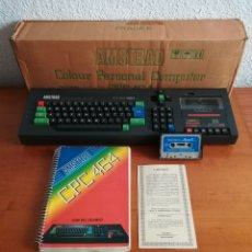 Videojogos e Consolas: ORDENADOR AMSTRAD CPC 464 CAJA CASETE WELCOME TO AMSOFT GARANTÍA GUÍA - COLOUR PERSONAL COMPUTER. Lote 203844488