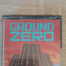 Videojuegos y Consolas: GROUND ZERO-AMSTRAD CASSETTE-TYNESOFT COMPUTER SOFTWARE-AÑO 1986-MUY DIFÍCIL. Lote 204209932