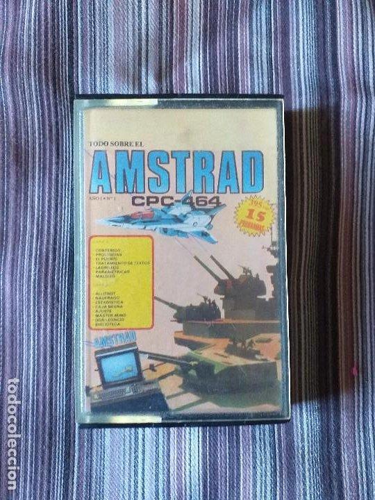 CASETE TODO SOBRE EL AMSTRAD CPC-464 AÑO 1 NÚMERO 1 (Juguetes - Videojuegos y Consolas - Amstrad)
