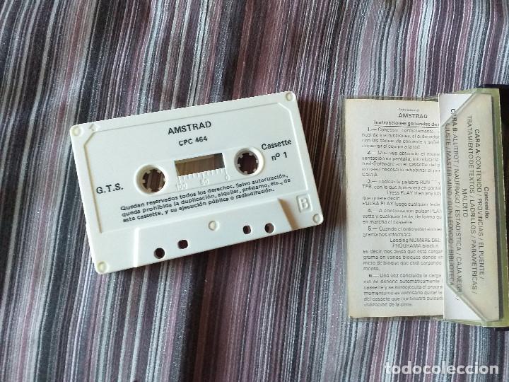 Videojuegos y Consolas: CASETE TODO SOBRE EL AMSTRAD CPC-464 AÑO 1 NÚMERO 1 - Foto 3 - 204610817