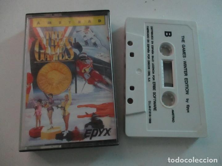THE GAMES WINTER ED. JEWEL CASE AMSTRAD RETRO VINTAGE CASSETTE - CINTA (Juguetes - Videojuegos y Consolas - Amstrad)