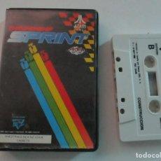 Videojuegos y Consolas: JUEGO PARA AMSTRAD CASSETTE, CHAMPIONSHIP SPRINT DE PROEIN DEL AÑO 1988.CAJA DE PVC. Lote 204731883